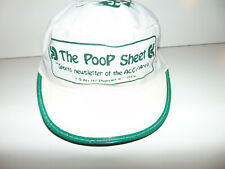 Reebok Vintage The Poop Sheet Acc Newsletter Rare Collectible Hat Cap