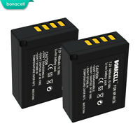 2 Pack NP-W126 NP-W126S Battery for Fujifilm X-T20 X-T10 X-E2S X100F MP