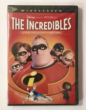 The Incredibles Dvd (2005, 2-Disc Collector Edition) Widescreen Brand New Sealed