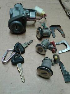 90-95 Nissan Axxess Ignition Switch Key Lock Cylinder Door Trunk Set