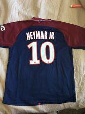 Nike PSG Neymar Jr #10 Jersey 2017 Youth Size 28