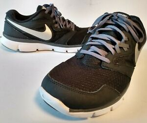 Nike Flex Experience RN3 Men's Tennis Shoes Sneakers-Black White-Size 11