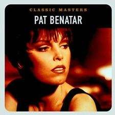 Classic Masters by Pat Benatar (CD, 2002, Remastered, Chrysalis) NEW! / FREE S&H