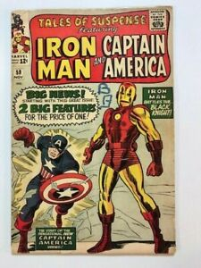 TALES OF SUSPENSE  #  59  , NICE COMIC , COMPLETE CHEAP PRICE.