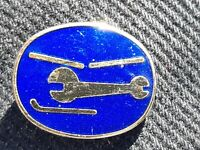 Helicopter  Maintenance Lapel Pin