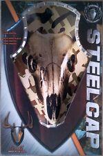 """Camo Skull"" Steelcap Deer Antler Mounting Kit, Plaque Style kit"