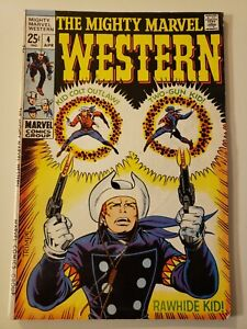 The Mighty Marvel Western #4. Apr 1969. VG/FN 5.0 or HIGHER!Rawhide Kid and more