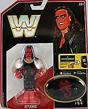 Sting WWE Mattel Retro Series 6 Brand New Action Figure Toy - Mint Packaging