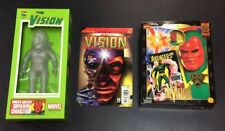 VISION VARIANT ACTION FIGURE MARVEL AVENGERS SOFUBI VINYL FAMOUS COVERS COMIC