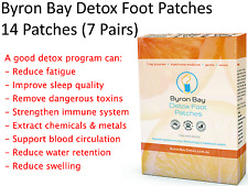 Byron Bay Detox Foot Patches Pack ( 7 pairs / 14 patches ) 1 Week Programme
