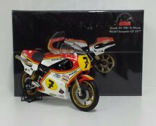 MINICHAMPS 1/12 BARRY SHEENE #7 BIKE SUZUKI RG 500 WORLD CHAMPION 1977 L.EDITION