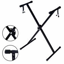 "17"" to 37"" Pro Audio Fold Adjustable X Style Keyboard Electric Piano Stand"