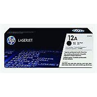 HP Q2612A Black Original Genuine LaserJet Toner Cartridge 12a