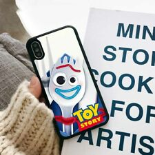 Toy Story 4 Forky Cartoon TPU Phone Cover Case for Apple iPhone Samsung Huawei