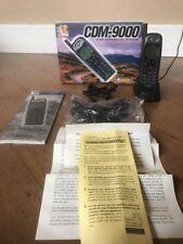 Vintage AUDIOVOX CDM-9000 Tri-Mode CDMA Cellular Phone Cell Phone With Box A27