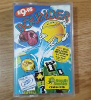 Commodore 64 C64 128 Video Game Bounder Vintage