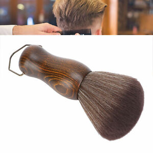 Light Weight Haircut Dust Brush Round Handle Neck Dust Brush Easy to Use