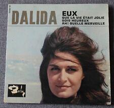 Dalida, eux + 3 , EP - 45 tours