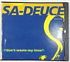 SA DEUCE  - Don't Waste My Time -  CD5 Maxi Single