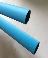 Pack Of 2 x 1 Mtr Heatshrink Tubing Blue 10mm 2:1 Shrinkage