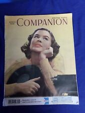 Vintage Woman's Home Companion March 1946 Magazine Lot #3-0100