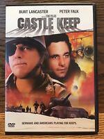 Castle Keep (DVD Full Screen) Disc Near Mint Burt Lancaster Peter Falk
