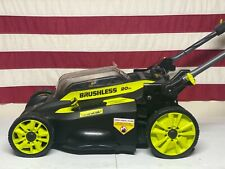 Ryobi 20 in 40Volt Brushless Cordless Self propelled mower(no battery)no charger