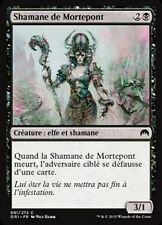 MTG Magic ORI FOIL - Deadbridge Shaman/Shamane de Mortepont, French/VF