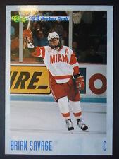NHL 81 Brian Savage Miami University Classic Hockey Draft 1993/94