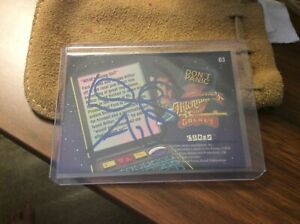 Douglas Adams Autographed Card Hitchhiker's Guide To The Galaxy Trading Card 03