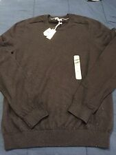 New Gap Men's Black Luxury Cashmere Cotton Crewneck Pullover Sweater Small NWT