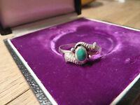 Toller 925 Silber Sterling Ring Jugendstil Art Deco Machalit Wundervoll Designer