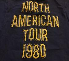 Vintage 80s Commodores Heroes Tour Concert Screenstar 100% Cotton T Shirt. Sz. M