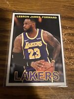 LeBron James Basketball Custom Non Branded Card NMMT Los Angeles Lakers NBA