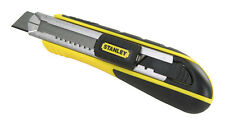 Stanley  FatMax  Retractable Blade 7 in. L Snap Knife  Black/Yellow