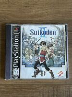 Suikoden II (Sony PlayStation 1, 1999) Disc & Manual Only! Tested FAST SHIP⚡️