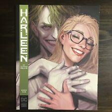 HARLEEN HARLEY QUINN 2 NM/NM+ Stjepan Sejic COVER BLACK LABEL DC Comics 2019