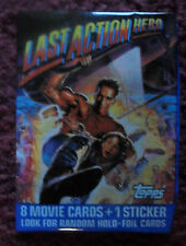 Unopened Pack The Last Action Hero Movie Cards ~ Arnold Schwarzenegger