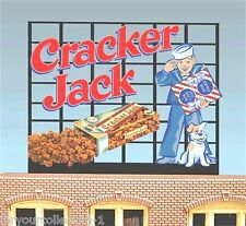 Miller's Cracker Jack Animated Neon Sign O/HO 88-0101 Miller Engineering