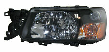 03 04 Forester Left Driver Headlight Headlamp Lamp Light Assembly