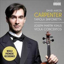 NEW Kraus: Viola Concertos (Audio CD)