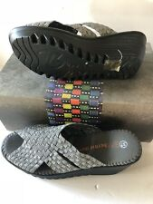Bernie MEV Women's Lori Stretch Platform Sandals 36 US 5