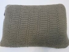 Ralph Lauren Kieran Sweater Knit Deco Pillow Sage Green $188