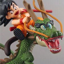 Juguete figuras de Dragon Ball Z Super Saiyan ✸Goku con Dragon✸ Riding PVC