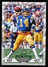 DAN FOUTS 2016 PANINI PLAYOFF GREEN PARALLEL EDITION #D 10/10 SAN DIEGO CHARGERS