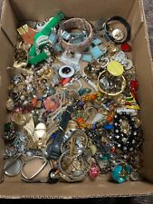 Huge Untested, Unsearched Silvertone Jewelry Lot, Vintage To Now!! NR