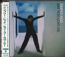 """Japan CD Import with Obi Strip, Simply Red: """"Say You Love Me"""" UPC 4988029266941"""