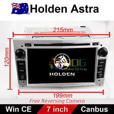 """7"""" Car DVD GPS Stereo Nav Head Unit For HOLDEN Astra 2004-2009 Model silver"""