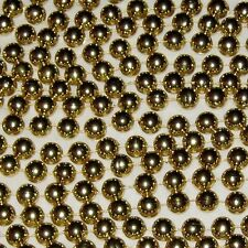 "Goldtone 1/2"" Ball Bead 50 foot Garland Decoration"
