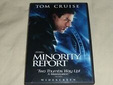Minority Report Dvd 2-disc set 2002 146 mins. Tom Cruise Like New Watched Once